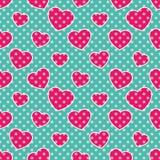 Coeurs de Bruit-art Image stock