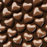 Coeurs de chocolat illustration libre de droits