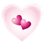 coeurs de coeur illustration libre de droits