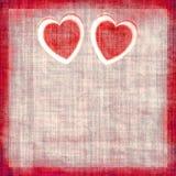 Coeurs de cru Photos stock