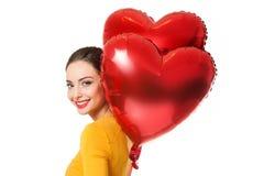 Coeurs de flottement Images stock