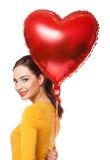 Coeurs de flottement Photographie stock libre de droits