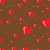 Coeurs de fond Photographie stock libre de droits