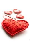 Coeurs de jour de Valentine Photo stock