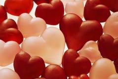 Coeurs de l'amour Image stock