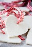 Coeurs de Noël Image stock