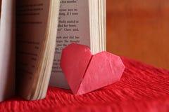 Coeurs de papier d'origami Photo libre de droits