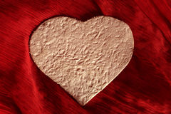 Coeurs de papier fait main Photos libres de droits