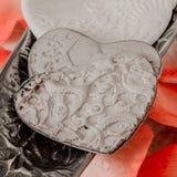 Coeurs de Porcelein Photo libre de droits