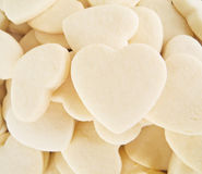 Coeurs de sablés. Photo libre de droits
