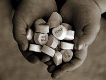 Coeurs de sucrerie Photo libre de droits