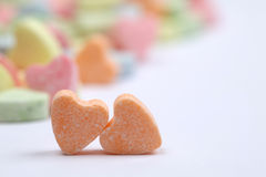 Coeurs de sucrerie Photo stock