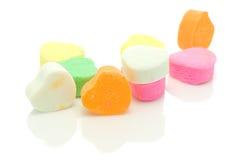 Coeurs de sucrerie. Images libres de droits