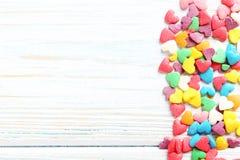 Coeurs de sucrerie Photos libres de droits