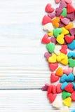 Coeurs de sucrerie Photographie stock libre de droits