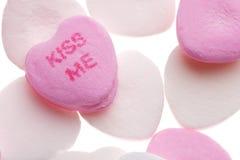 Coeurs de sucrerie du jour de Valentine Photo stock