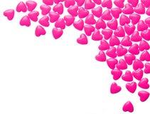 Coeurs de sucrerie Le jour de Valentine Image stock