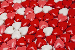 Coeurs de sucrerie, valentines, jour images libres de droits