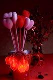 Coeurs de Valentine photo libre de droits
