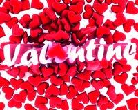 Coeurs de Valentine Illustration de Vecteur