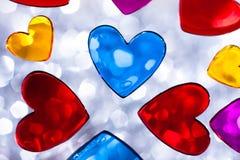 Coeurs de Valentine Photographie stock libre de droits