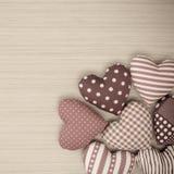 Coeurs de Valentine Photo stock