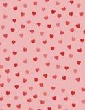 Coeurs de Valentine illustration libre de droits