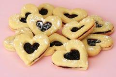 Coeurs de Valentine effectués pour vous Photos stock