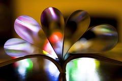Coeurs des pages de livre Photographie stock libre de droits