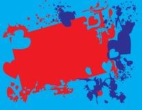 Coeurs des taches Illustration Libre de Droits