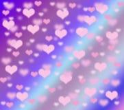 Coeurs doux Photos stock