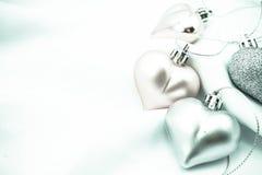 Coeurs doux de couleur pour le fond romantique Photographie stock libre de droits