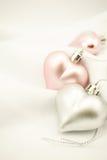 Coeurs doux de couleur pour le fond romantique Photo stock