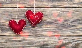 Coeurs du jour de Valentine image libre de droits