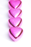 Coeurs du jour de Valentine Images libres de droits
