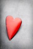 Coeurs du jour de Valentine Carte greating de Saint Valentin Photos stock