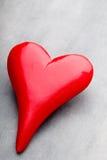 Coeurs du jour de Valentine Carte greating de Saint Valentin Photo libre de droits
