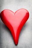 Coeurs du jour de Valentine Carte greating de Saint Valentin Photos libres de droits