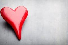 Coeurs du jour de Valentine Carte greating de Saint Valentin Image stock
