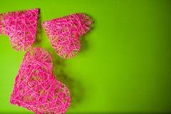 Coeurs du `s de Valentine Image stock