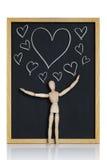 Coeurs en abondance Photos libres de droits