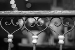 Coeurs en acier Photos stock