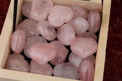 Coeurs en pierre Photographie stock libre de droits
