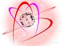 Coeurs ensemble pour toujours Image libre de droits