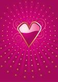 Coeurs et étoiles Photo stock
