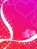Coeurs et étoiles Photos stock