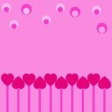 Coeurs et billes images libres de droits