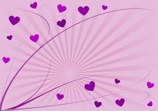 Coeurs et lignes photos libres de droits