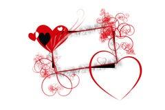 Coeurs et vignes Photos libres de droits