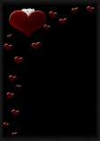 Coeurs H Photos stock